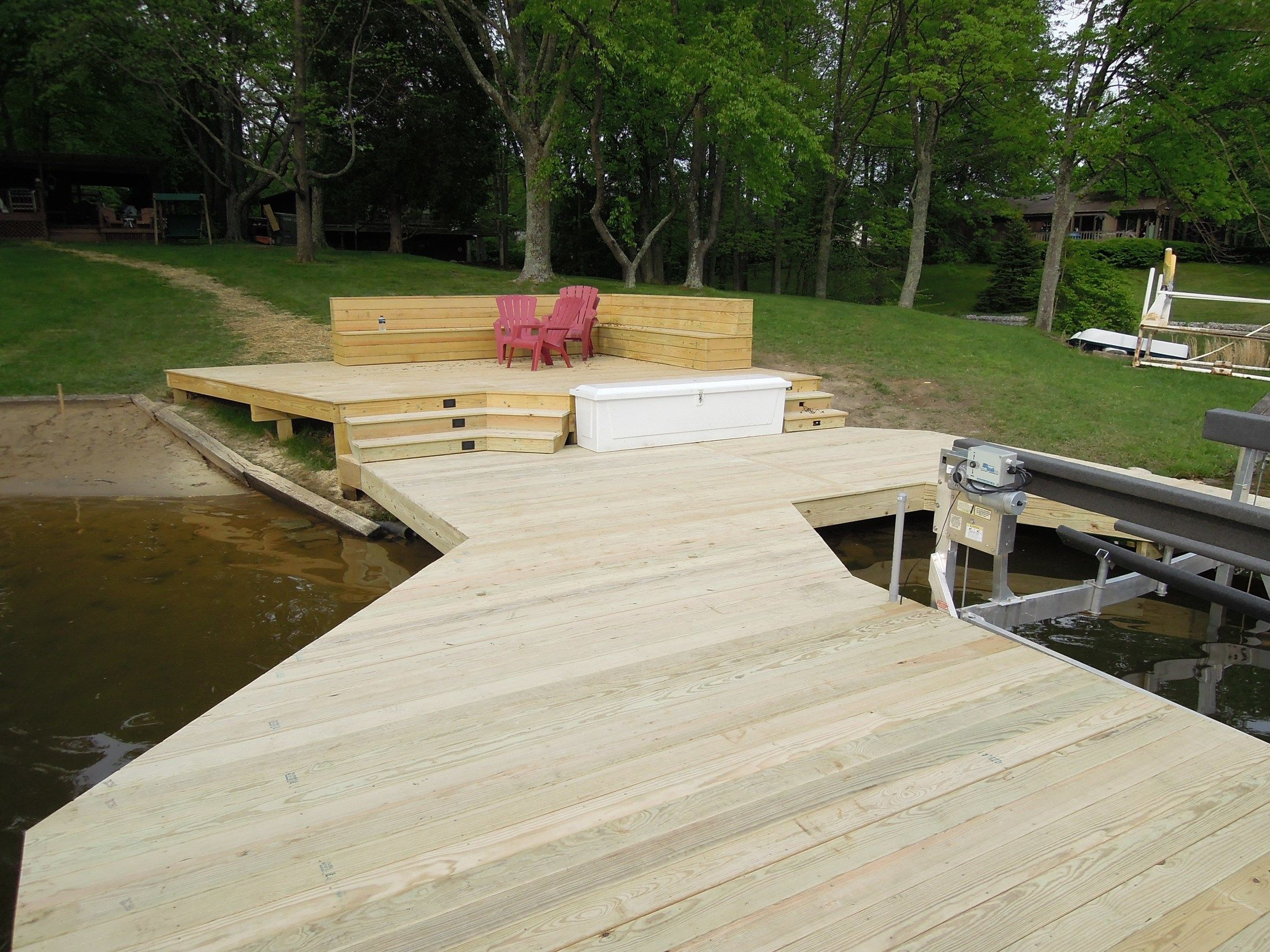 Lake Lorelei Dock - Picture 6095