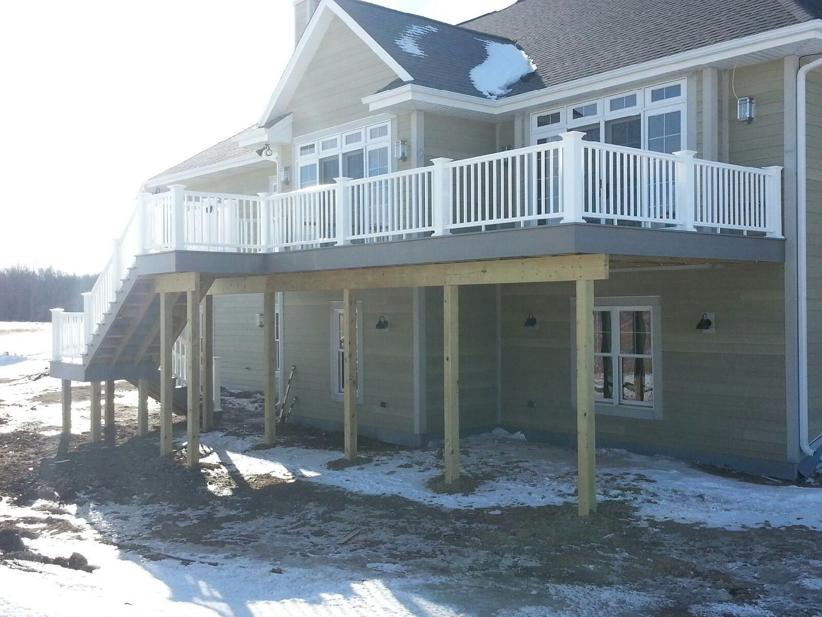 Deck with landing - Picture 6207