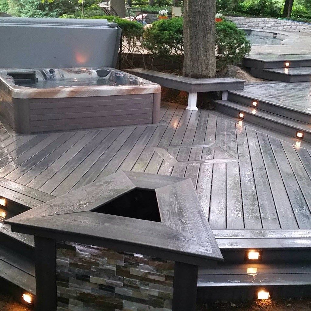 Modular Split Level Deck: Tiered, Split-Level & Multi-Level Deck Ideas & Pictures