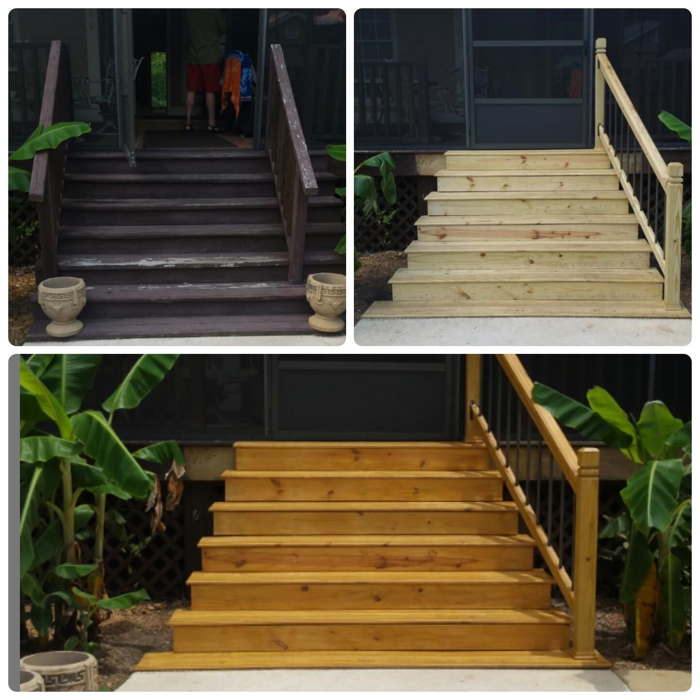 Stair replacement - Picture 6286