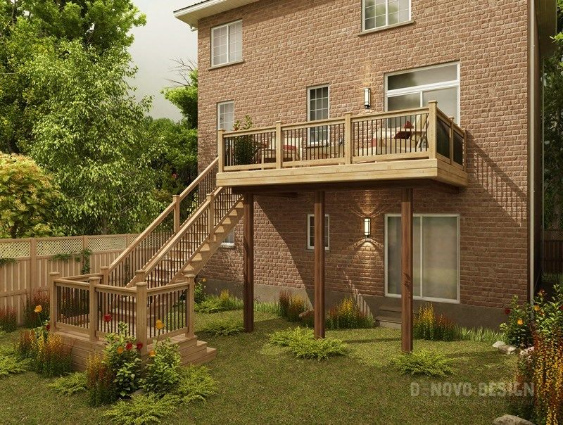Cedar Deck Design - Picture 6298