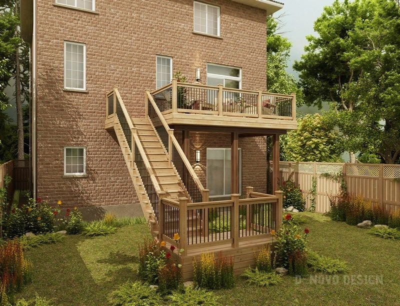 Cedar Deck Design - Picture 6300