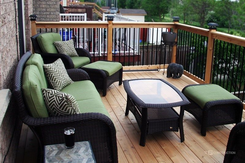 Cedar Deck Design - Picture 6307