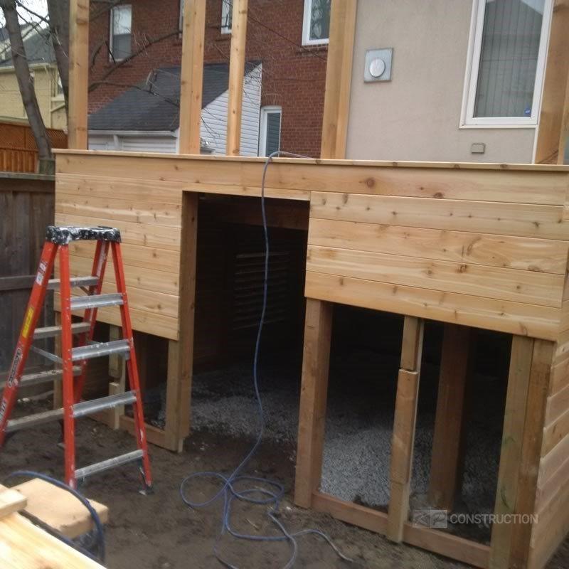 Custom Cedar Deck - Picture 6324