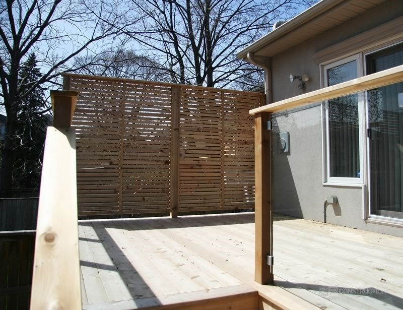 Custom Cedar Deck - Picture 6331
