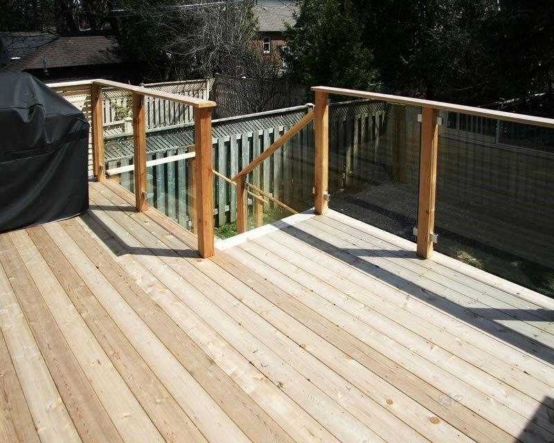Custom Cedar Deck - Picture 6332