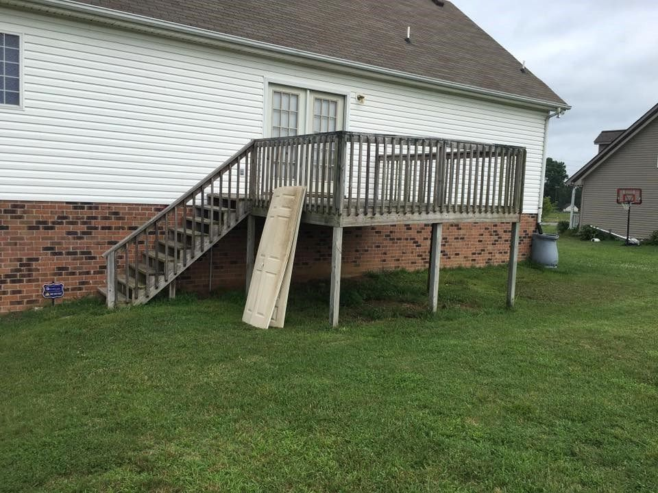 16x16 deck - Picture 6385