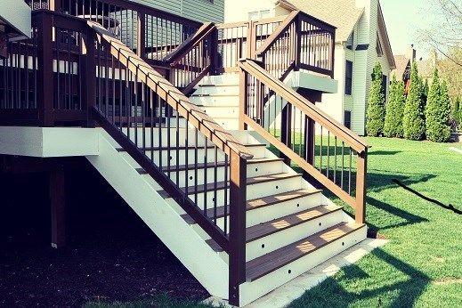 plainfeild trex deck - Picture 6392