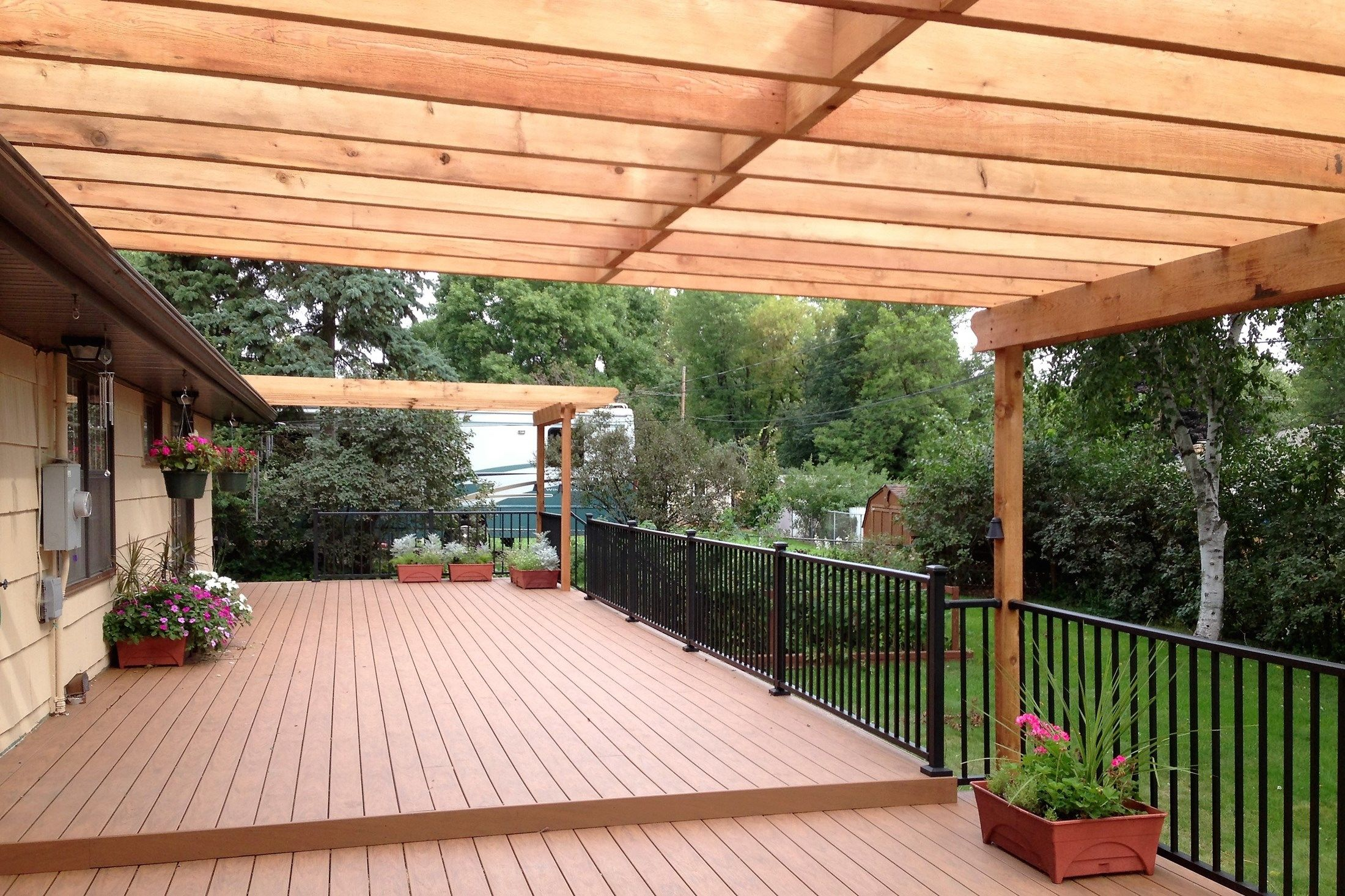 Pergola over Deck - Picture 6459