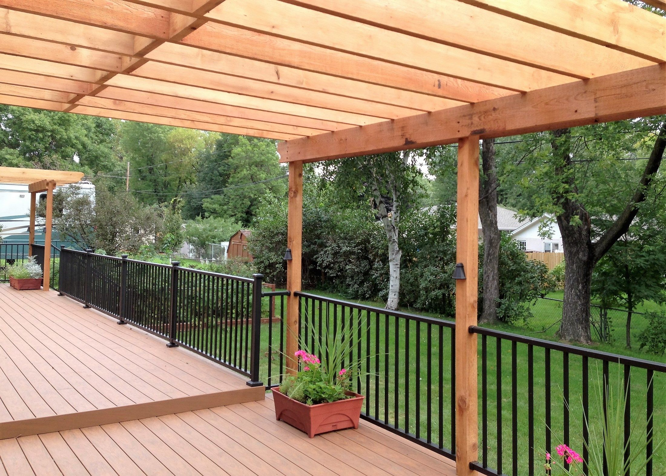 Pergola over Deck - Picture 6460