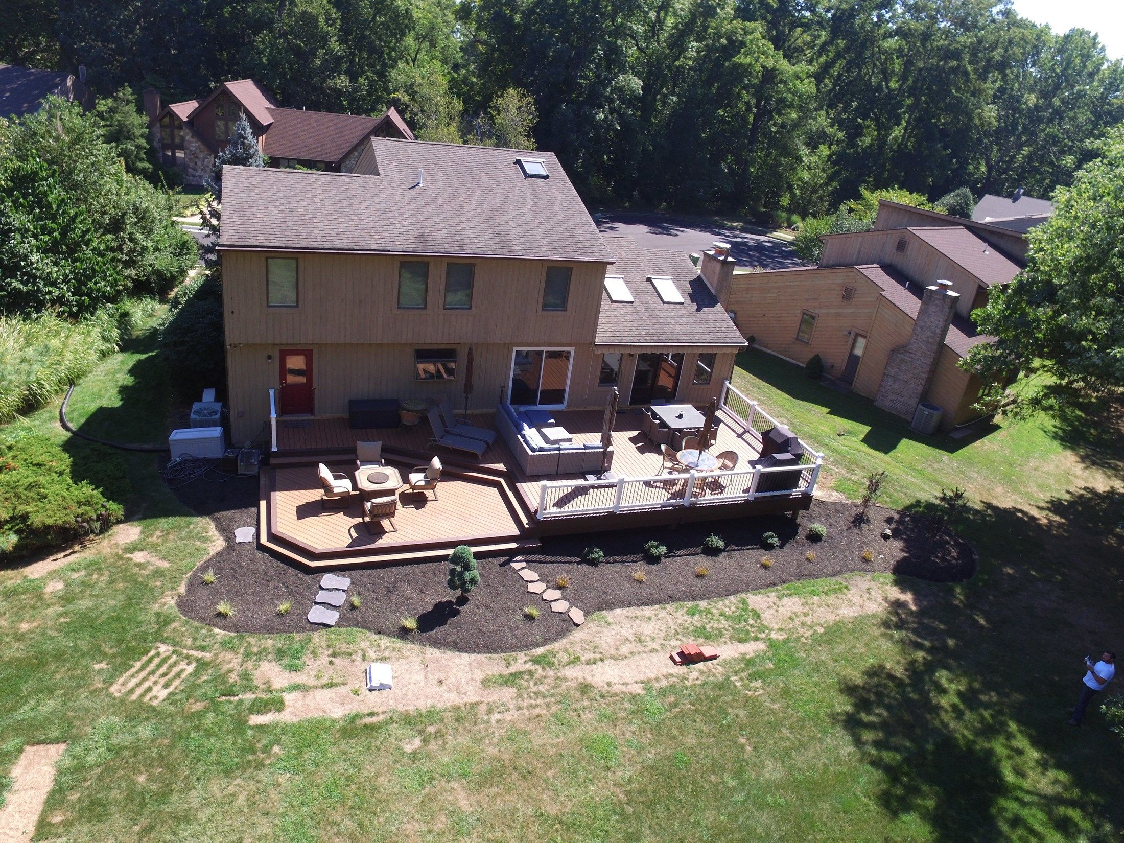 Composite Deck-1,100 square feet - Picture 6512
