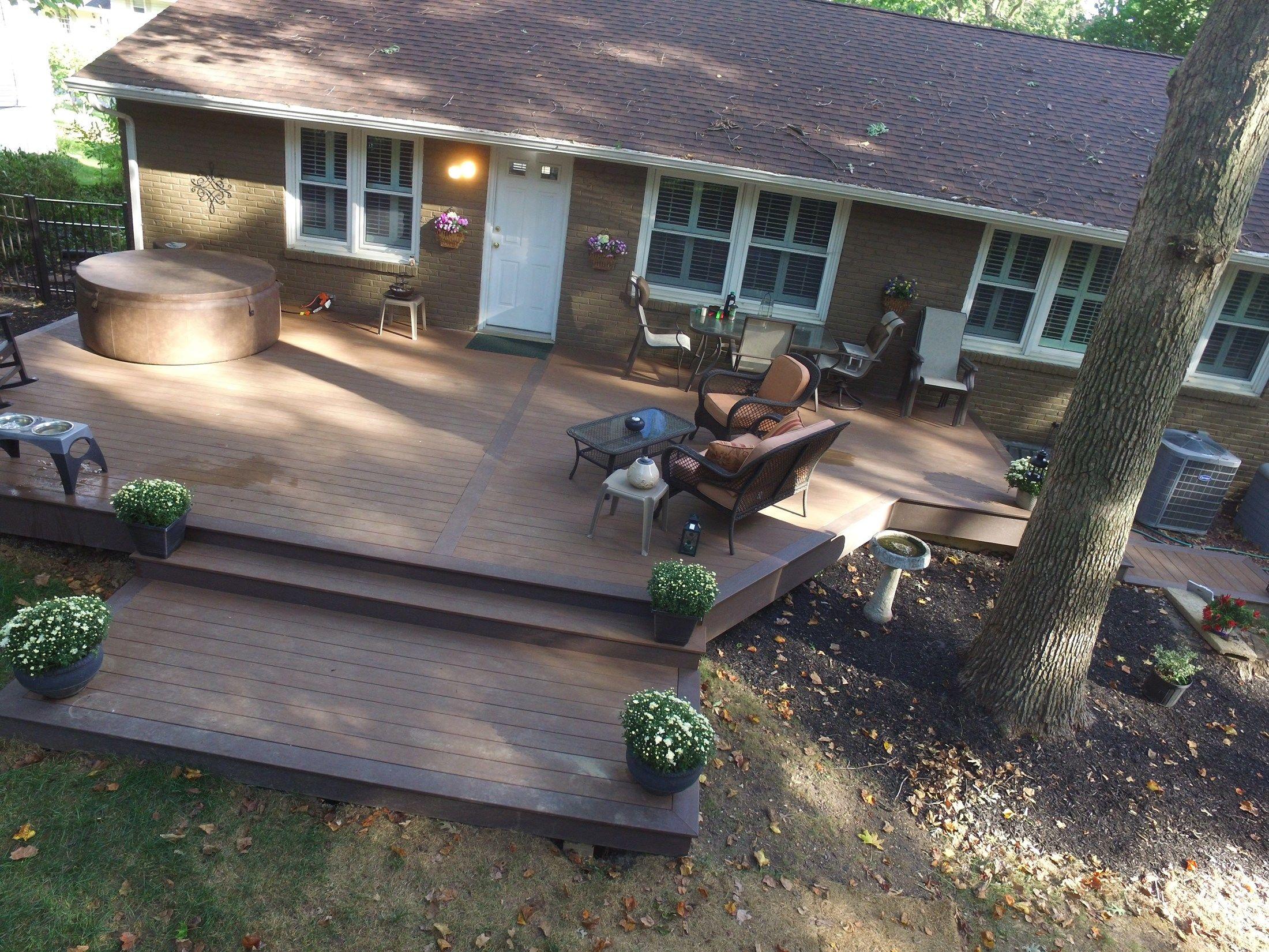 Timbertech Terrain Deck - Picture 6522