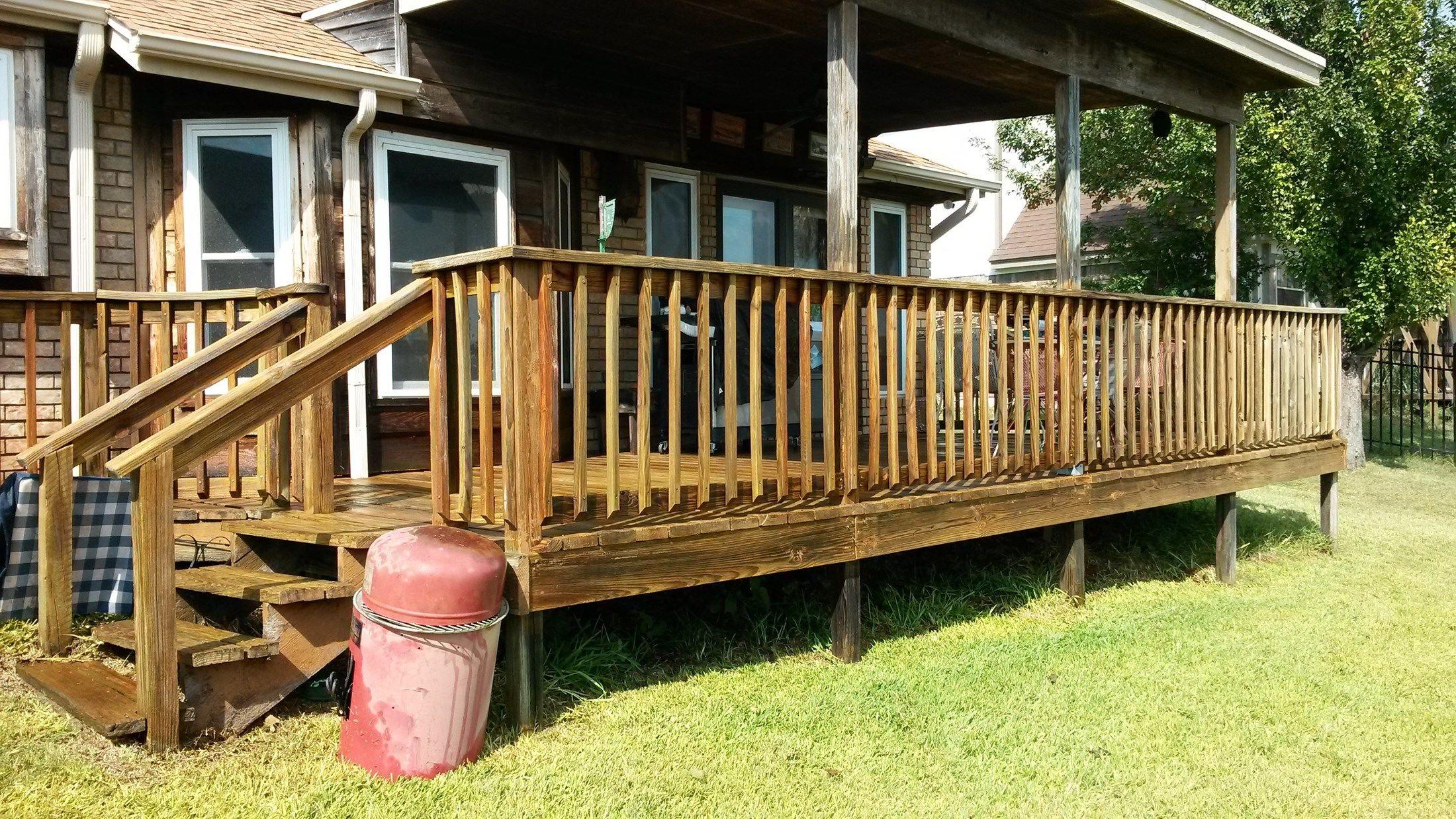 Deck Rebuild - Picture 6561