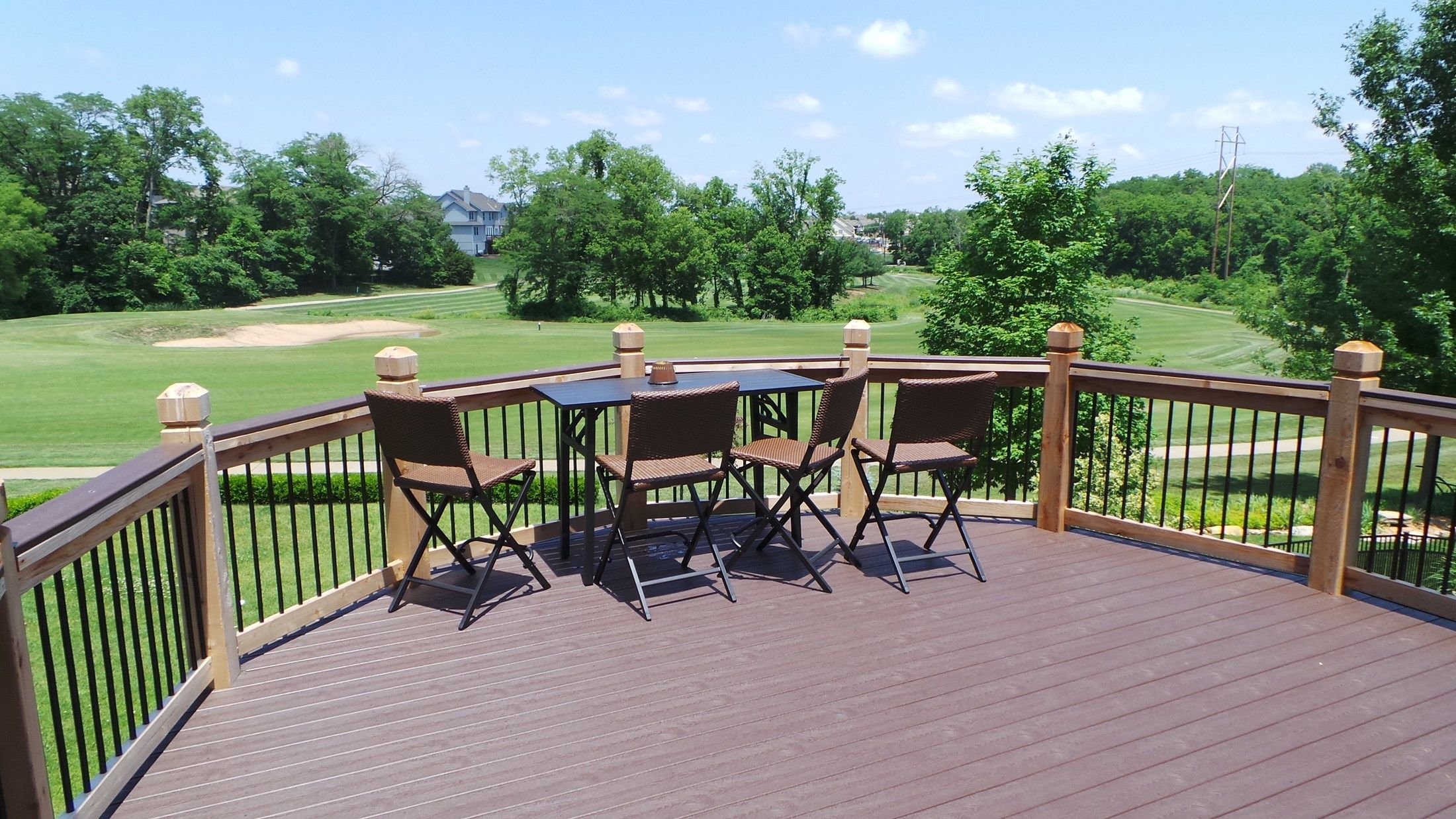 Custom Framing for Golf Course View - Picture 6670