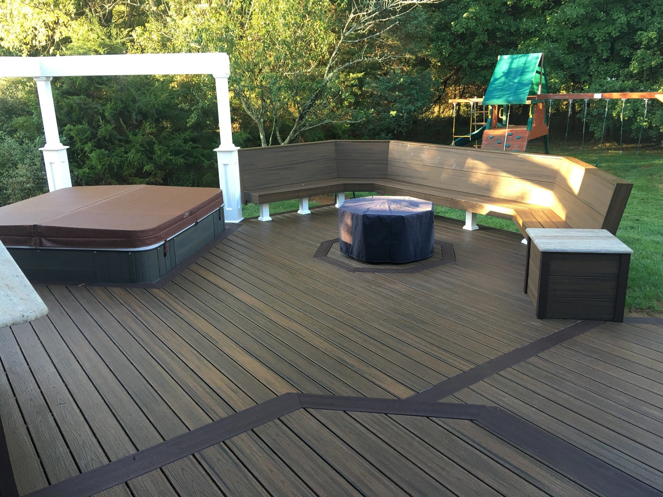 Custom deck in Millstone N.J. - Picture 6702