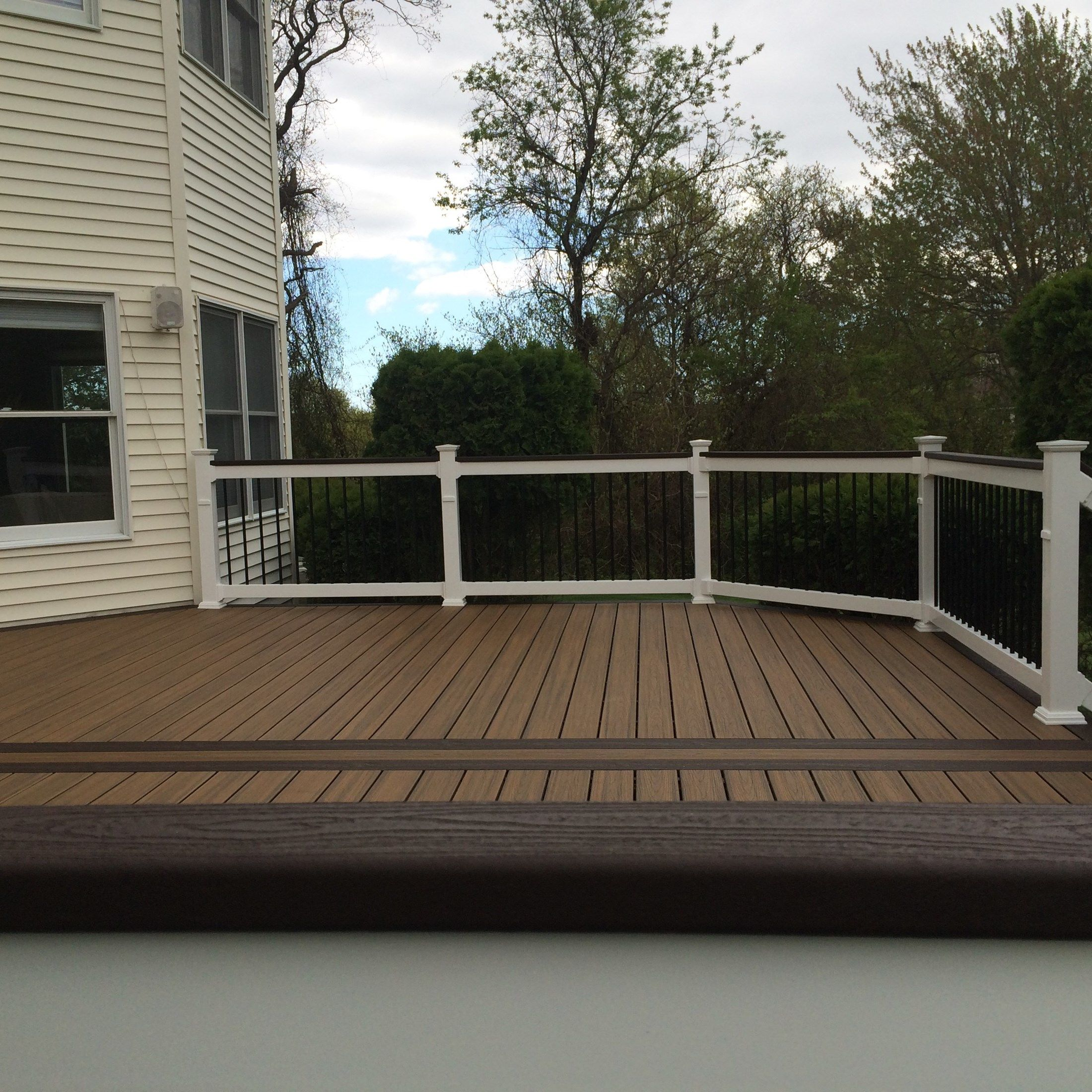 Custom deck in Millstone N.J. - Picture 6711