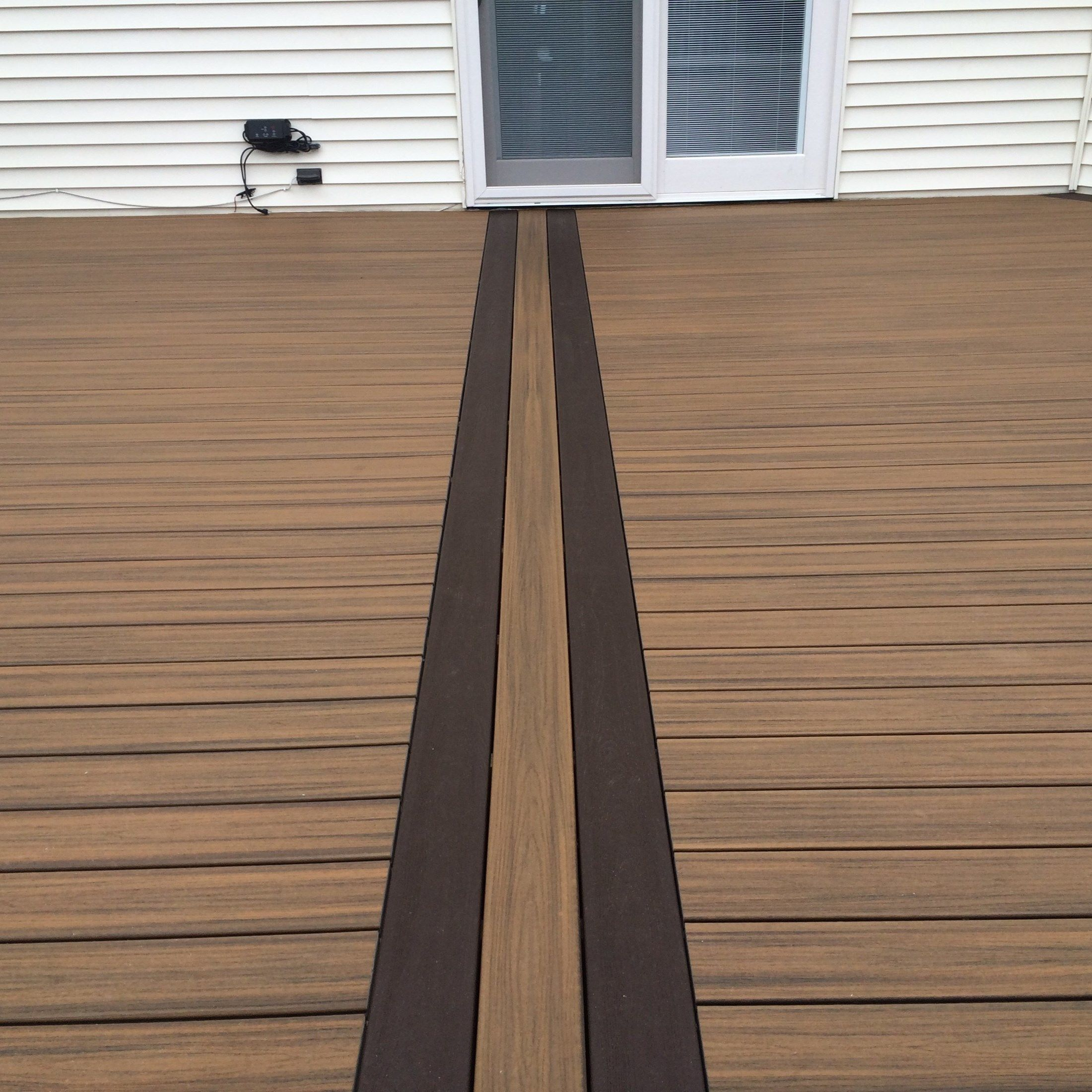 Custom deck in Millstone N.J. - Picture 6712