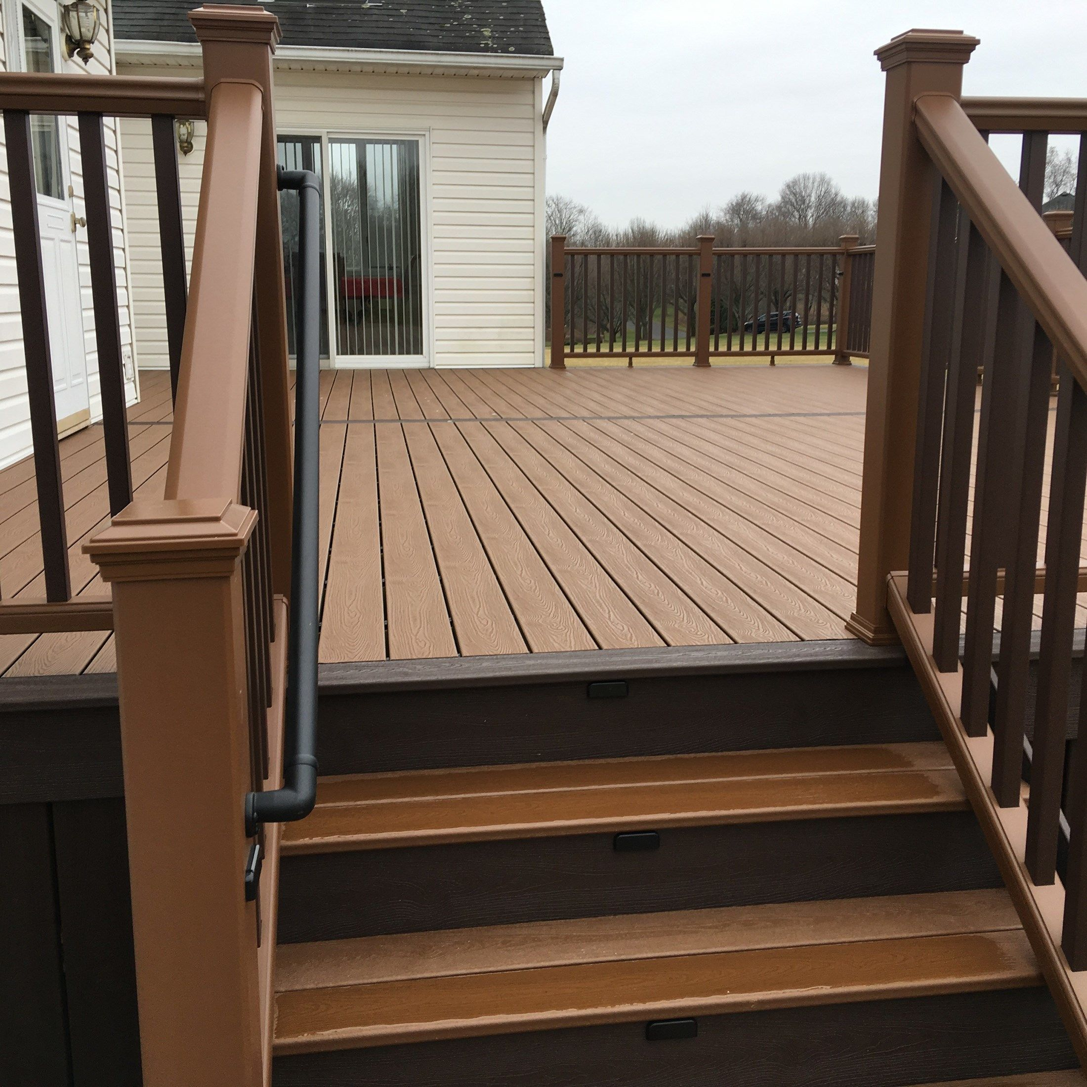 Custom deck in Manalapan NJ - Picture 6716