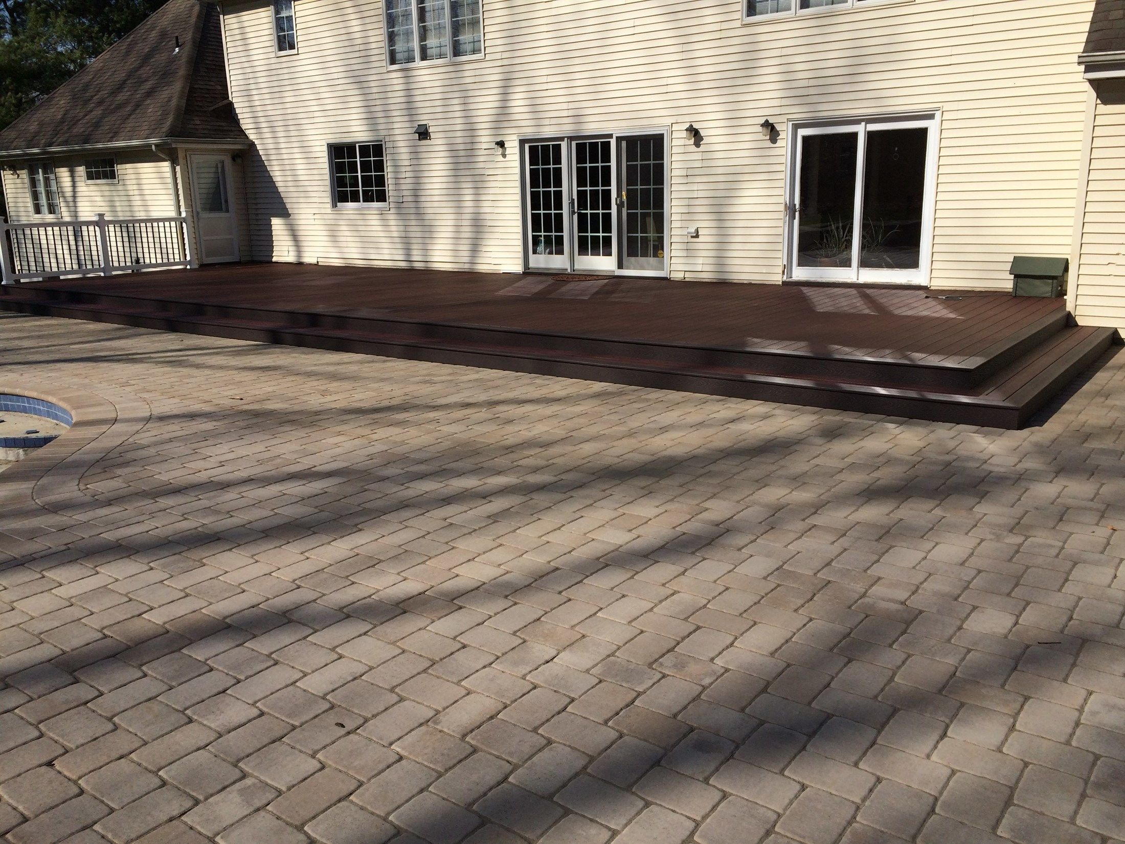 Custom deck in Marlboro NJ - Picture 6734