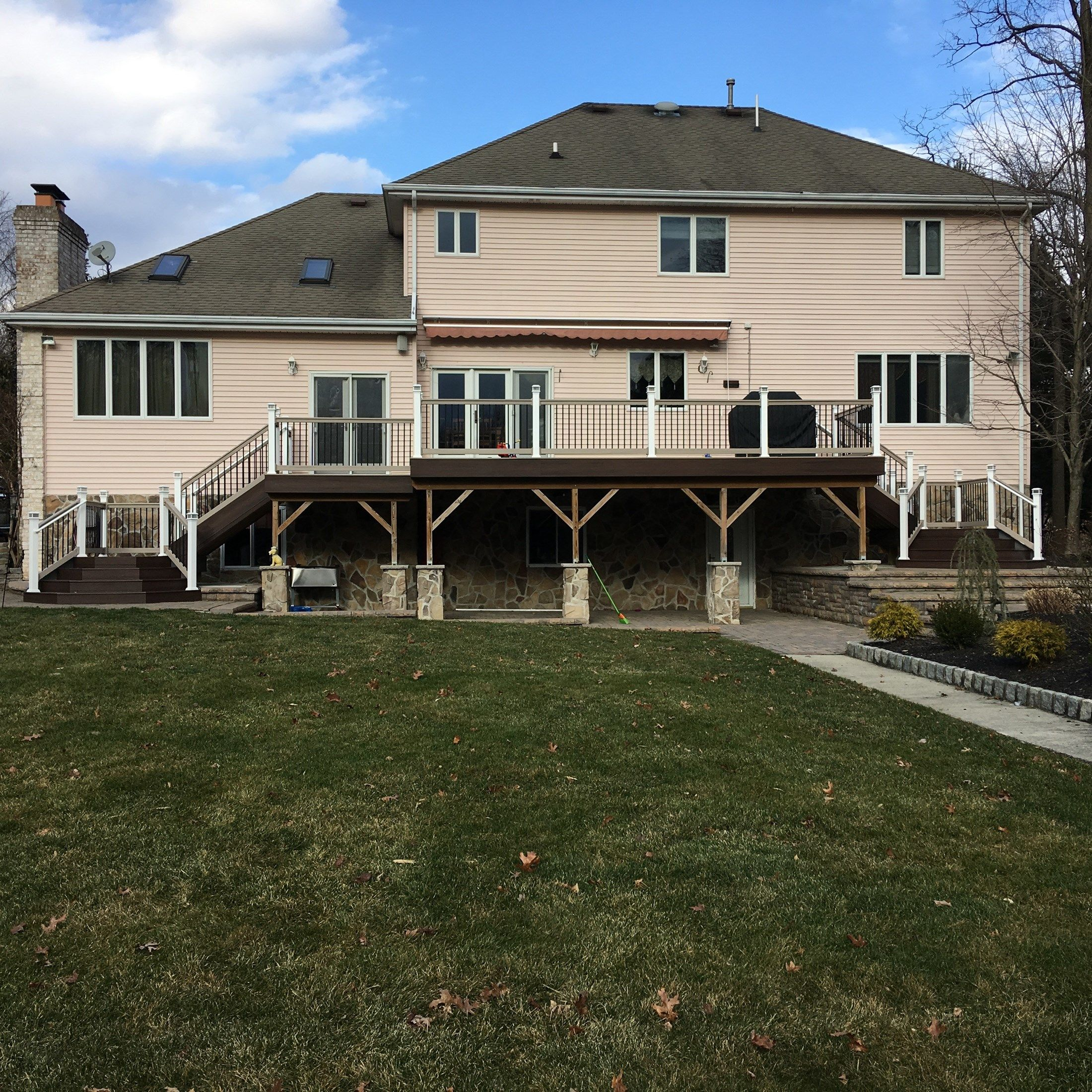 Custom deck in Old Bridge NJ - Picture 6739