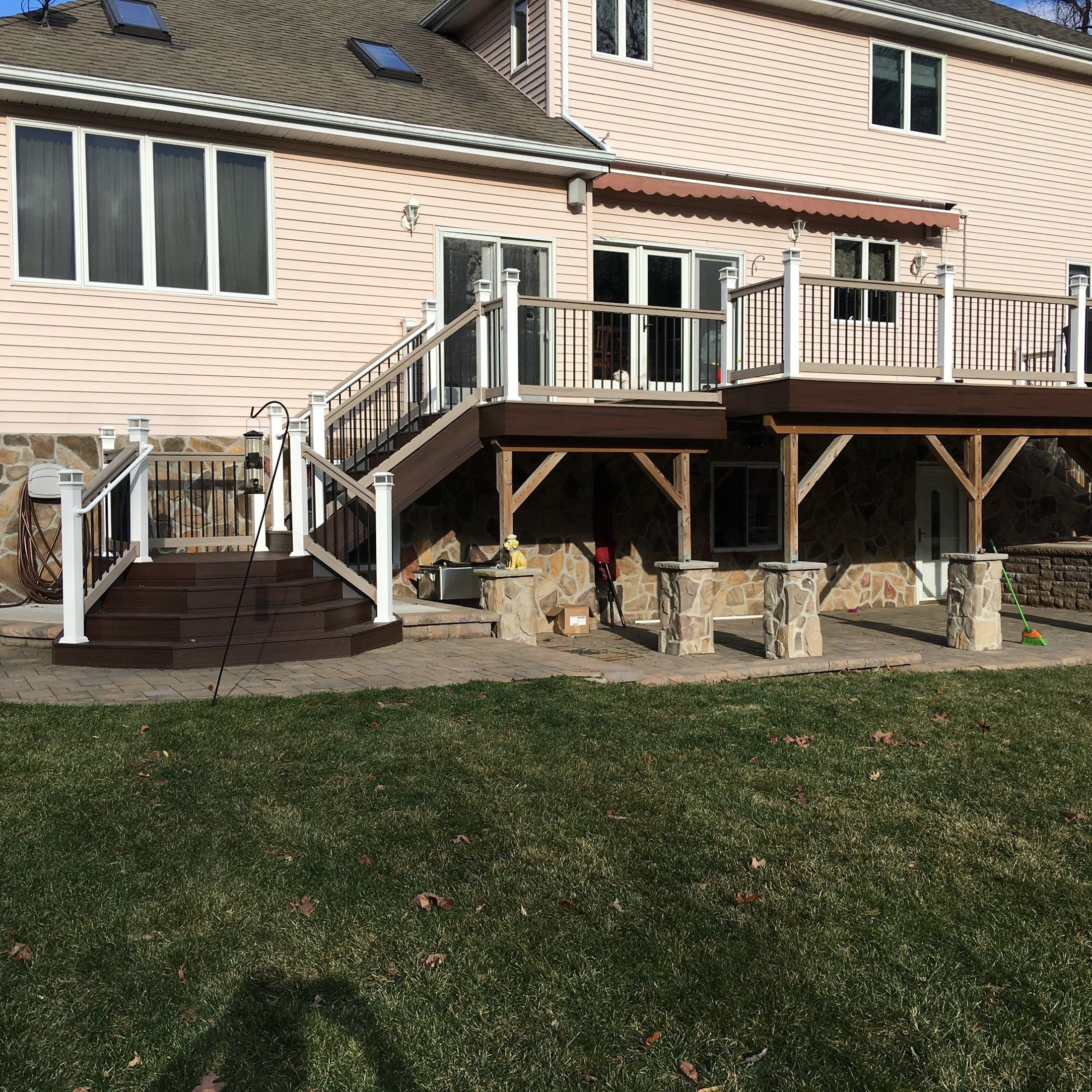 Custom deck in Old Bridge NJ - Picture 6740
