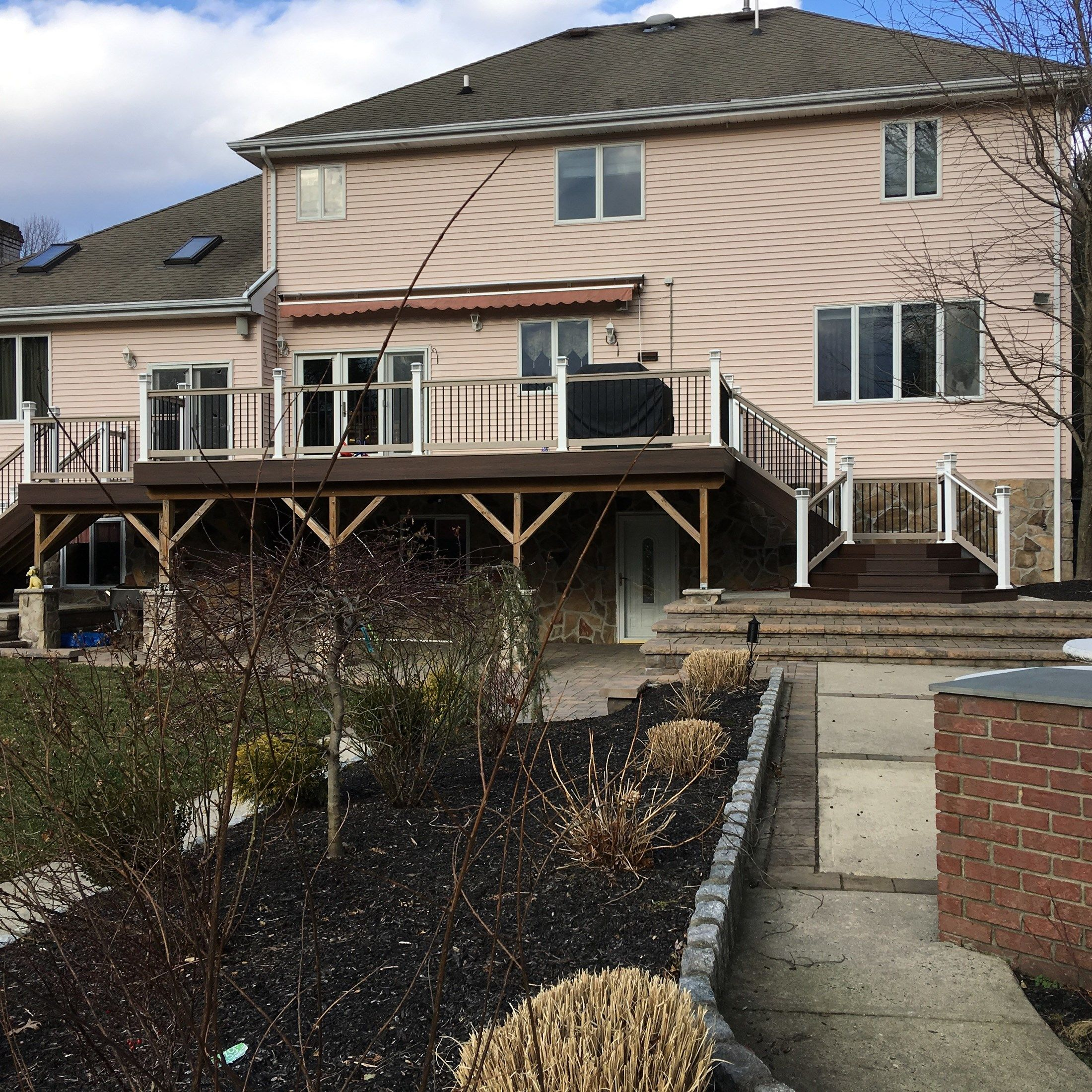 Custom deck in Old Bridge NJ - Picture 6741