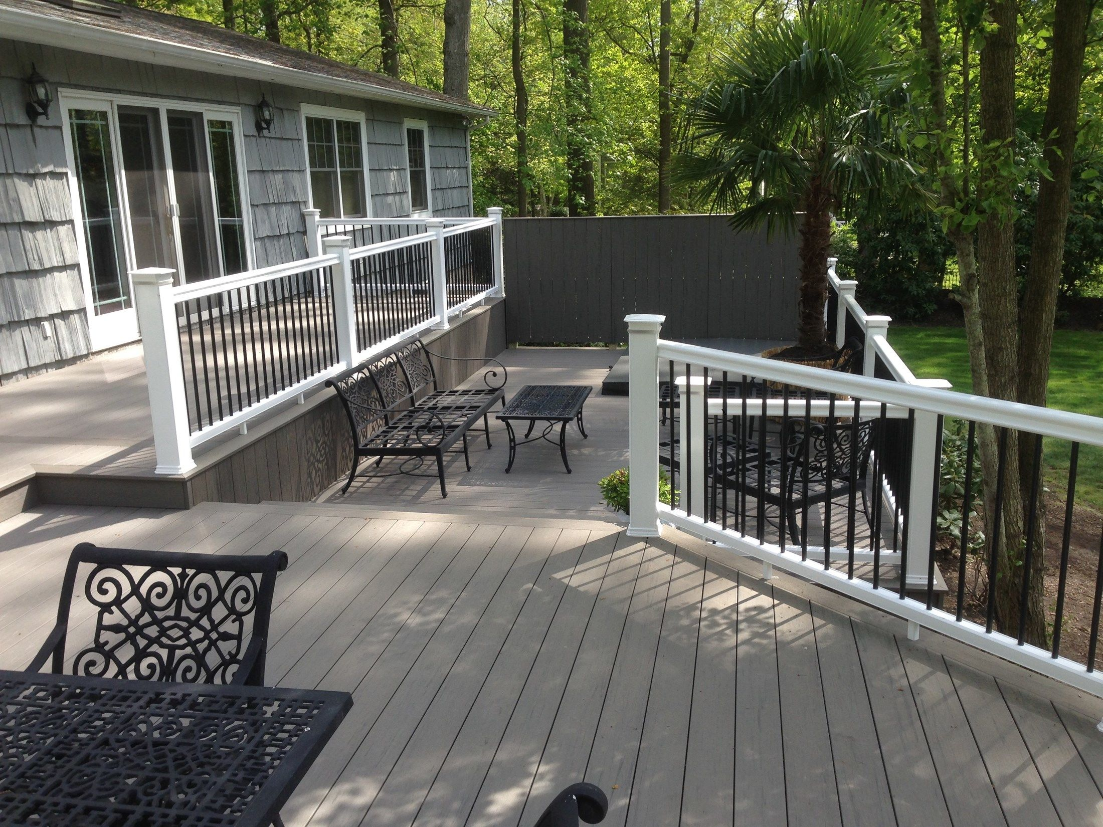 Multi-Level TimberTech Deck - Picture 6747