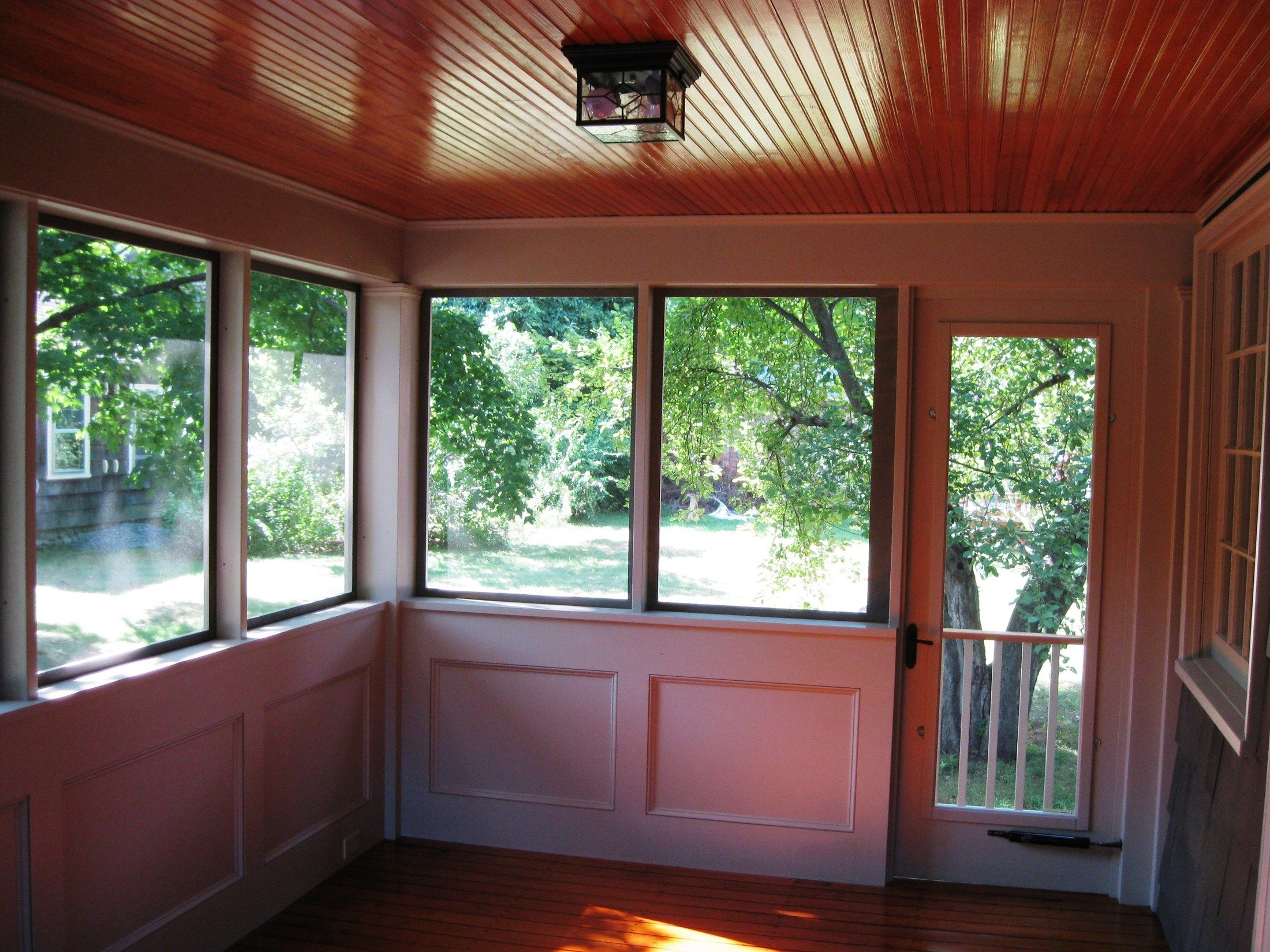 Enclosed Porch Picture 6822 Decks Com