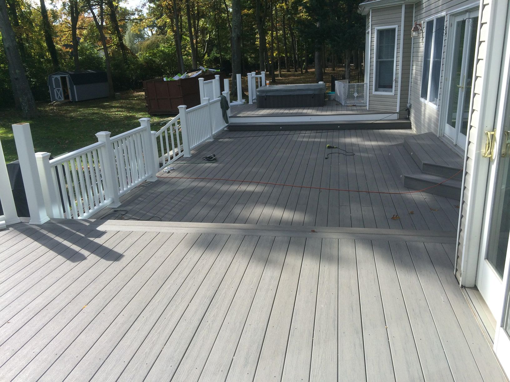 Gray Composite Deck - Picture 6826