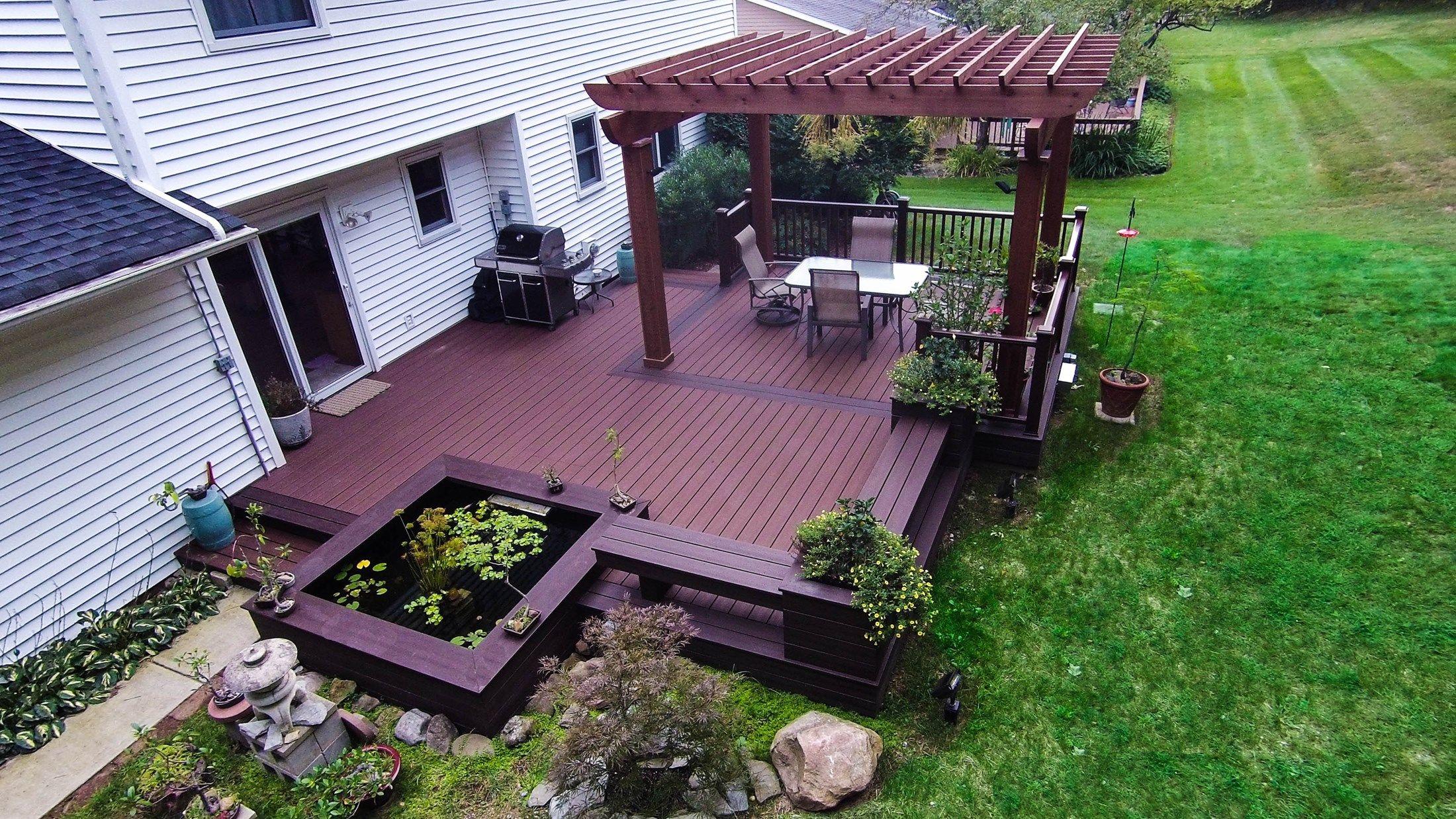 Decks Com Japanese Garden Deck Picture 6878