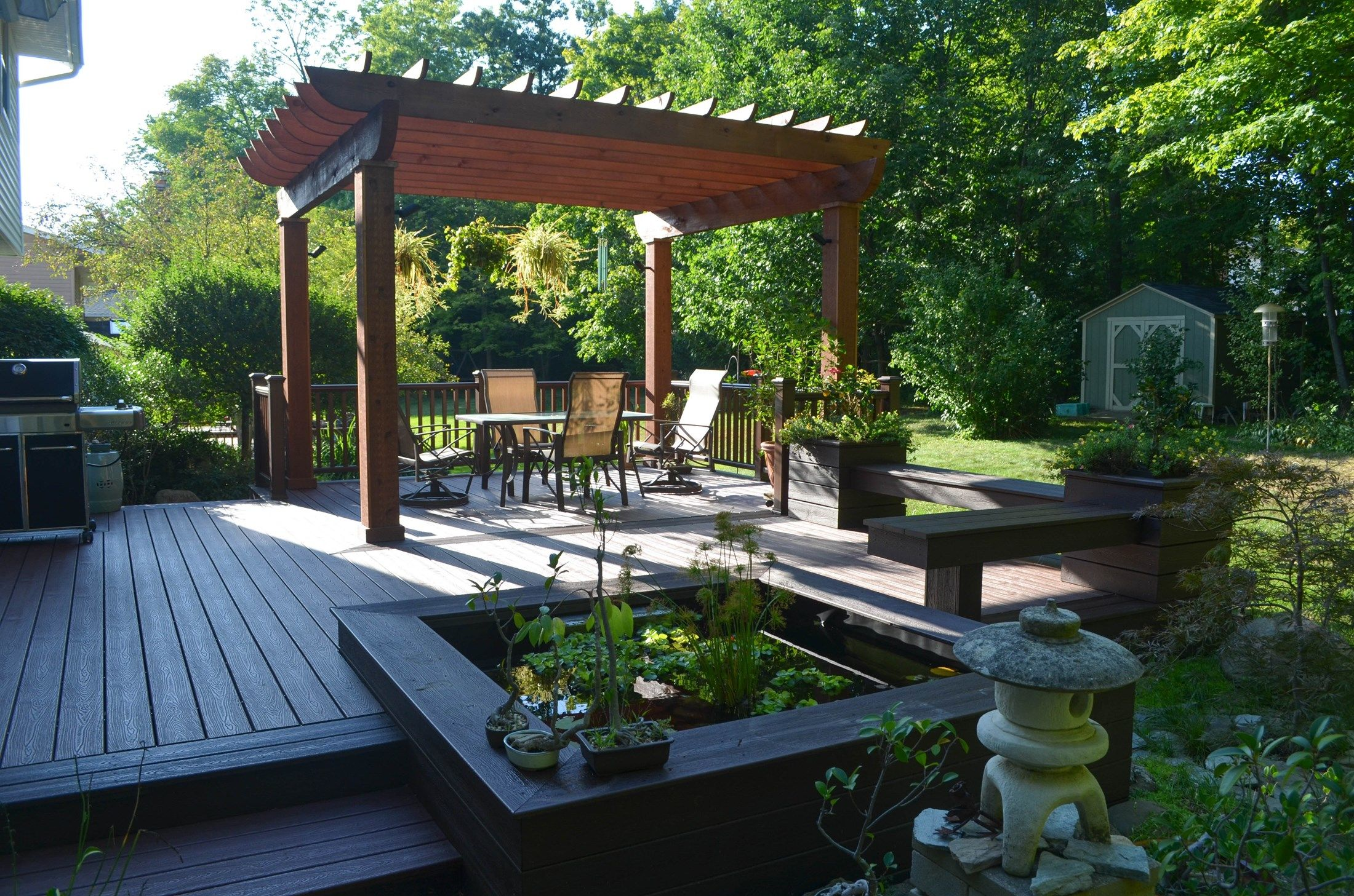 Japanese Garden Deck - Picture 6879