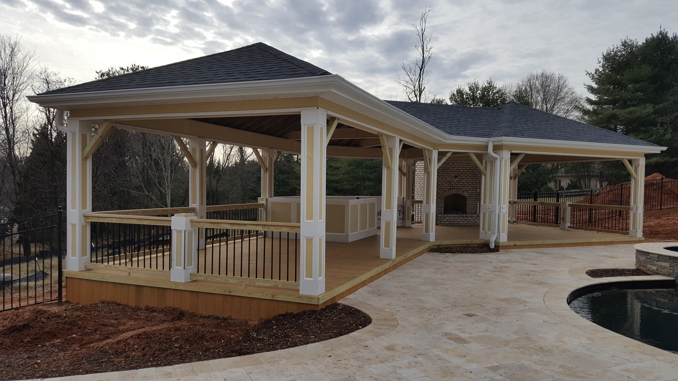 open porch - Picture 6909