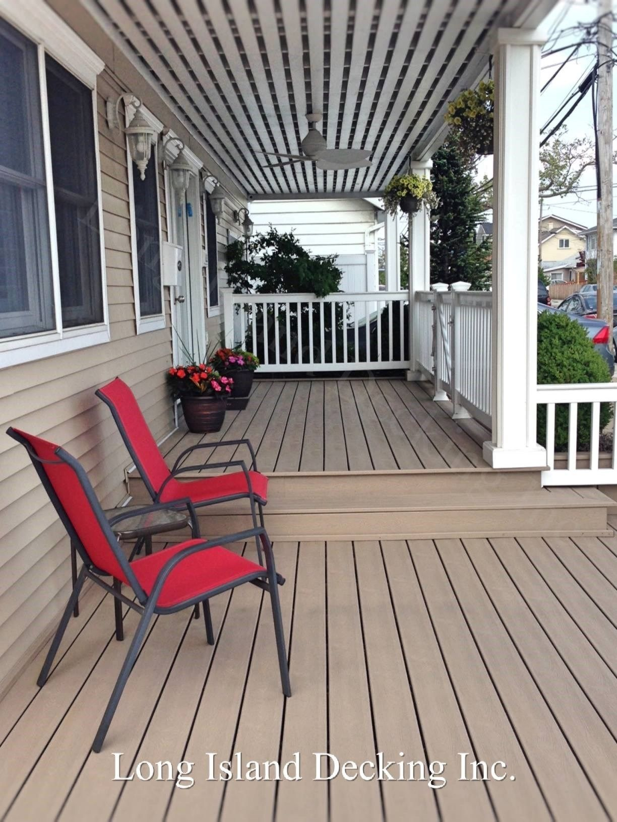 Long Beach NY Porch - Picture 6982