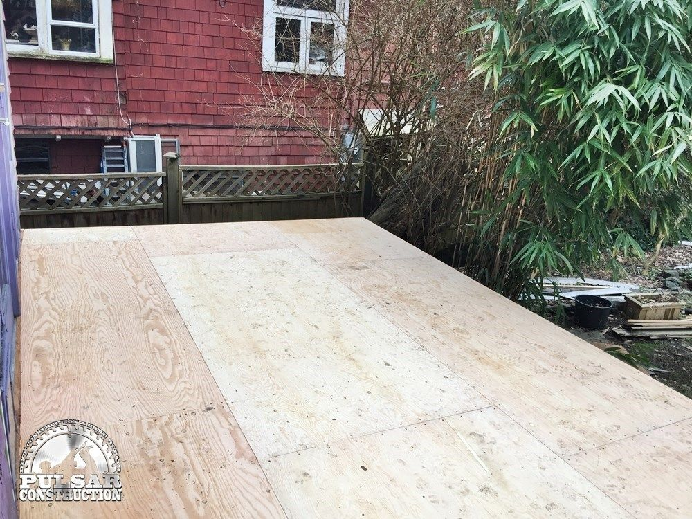 Vinyl Waterproofing & Additional Deck Support - Picture 7069
