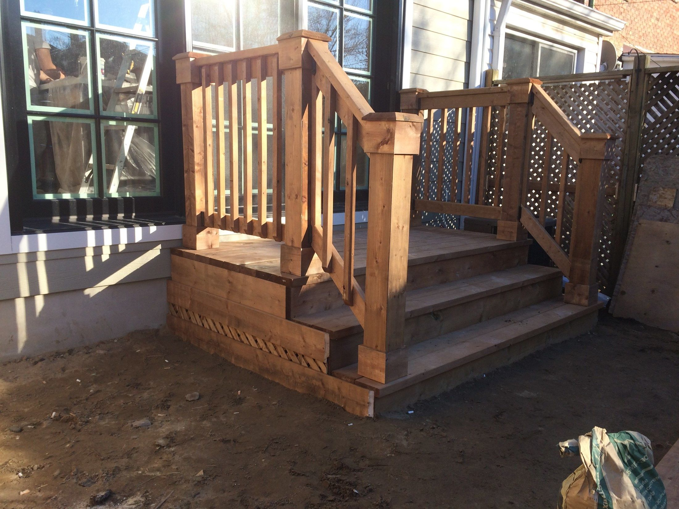 Walk out deck - Picture 7155