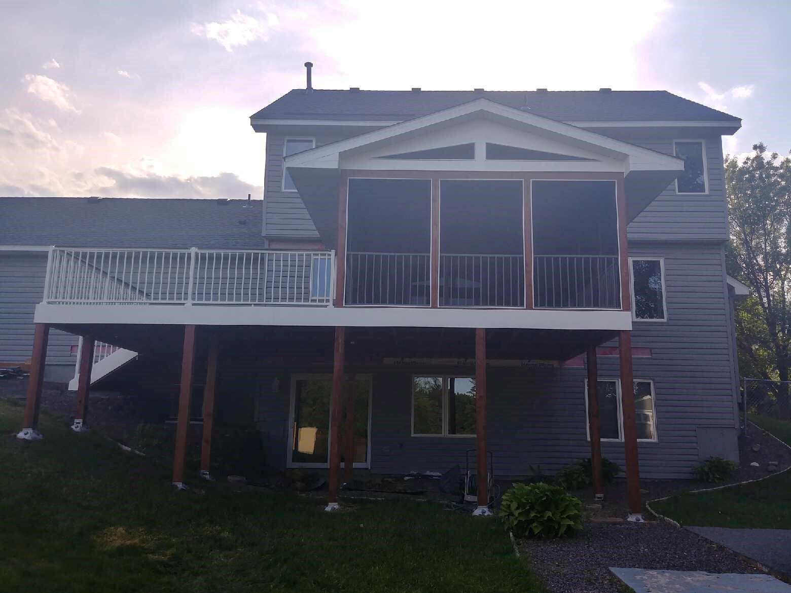 Shook Screen Porch and Deck - Picture 7197