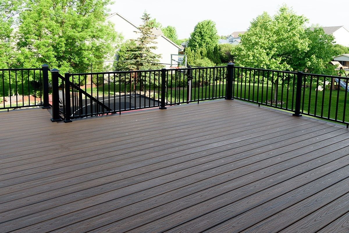 Shakopee MN Trex Deck - Picture 7211