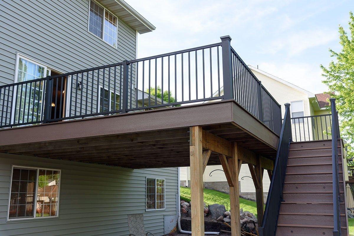 Shakopee MN Trex Deck - Picture 7212