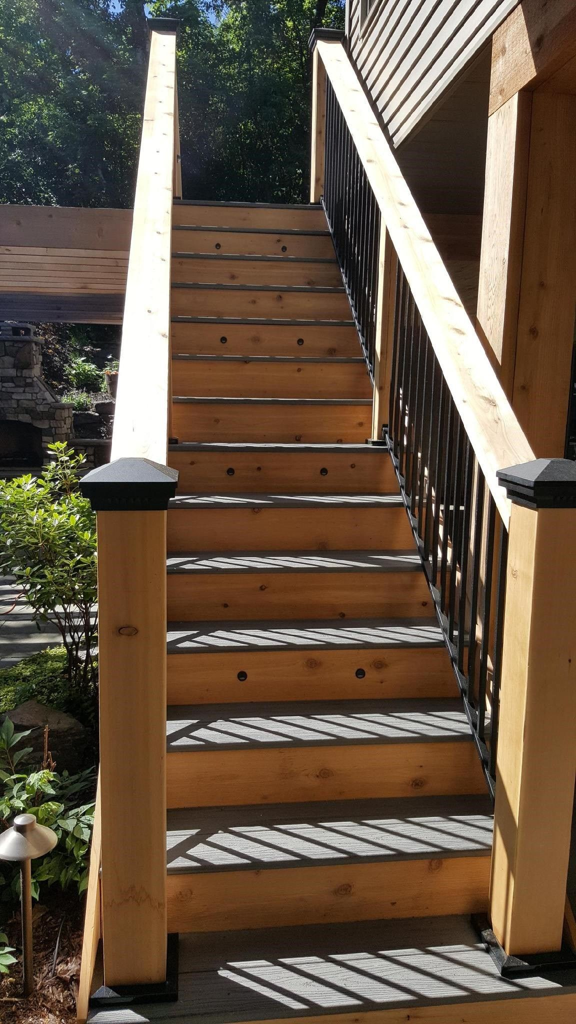 Inver Grove Heights MN Trex Deck - Picture 7284