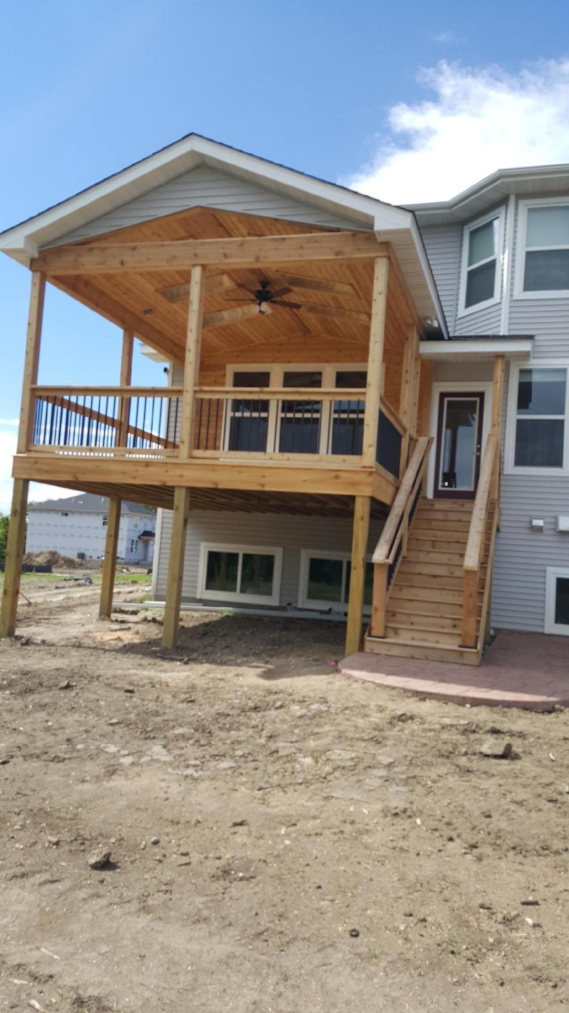 Open Air Cedar Porch - Picture 7290