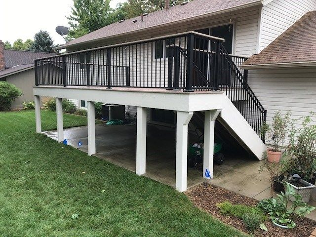 Maple Grove MN Trex Deck - Picture 7401