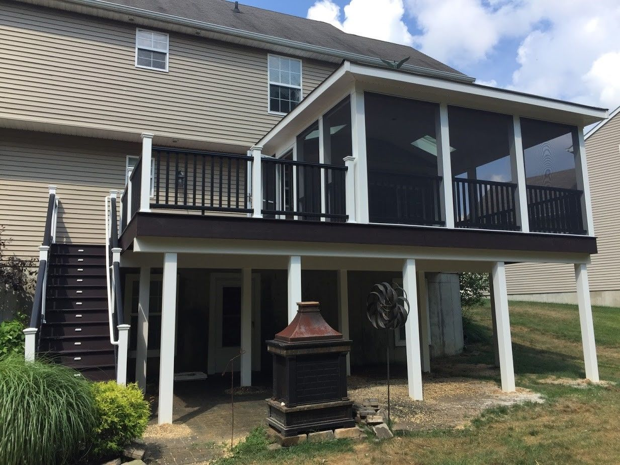 Tuckerton Trex Deck - Picture 7447