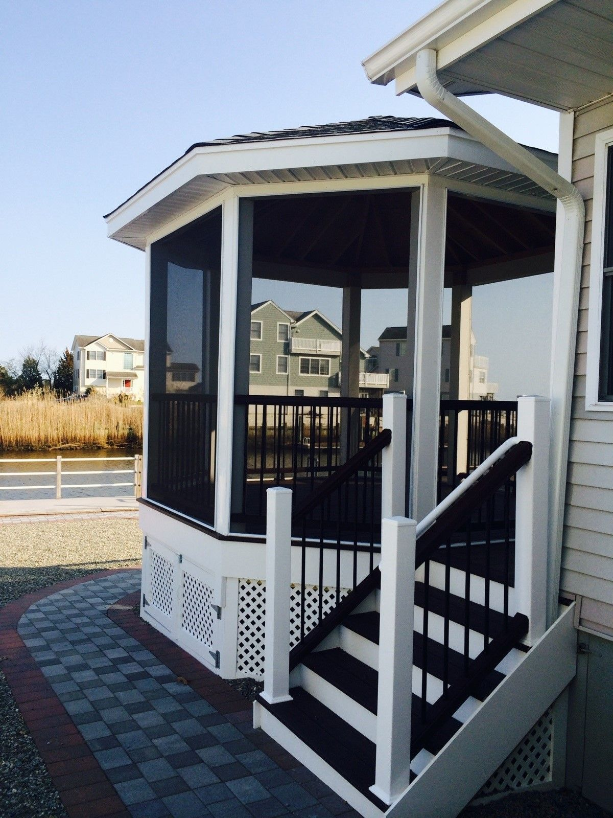 Decks Com Hunter Drive Trex Gazebo Picture 7456