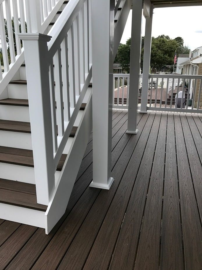 Bayville NJ Trex Deck - Picture 7470