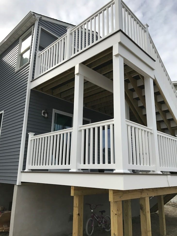 Bayville NJ Trex Deck - Picture 7474