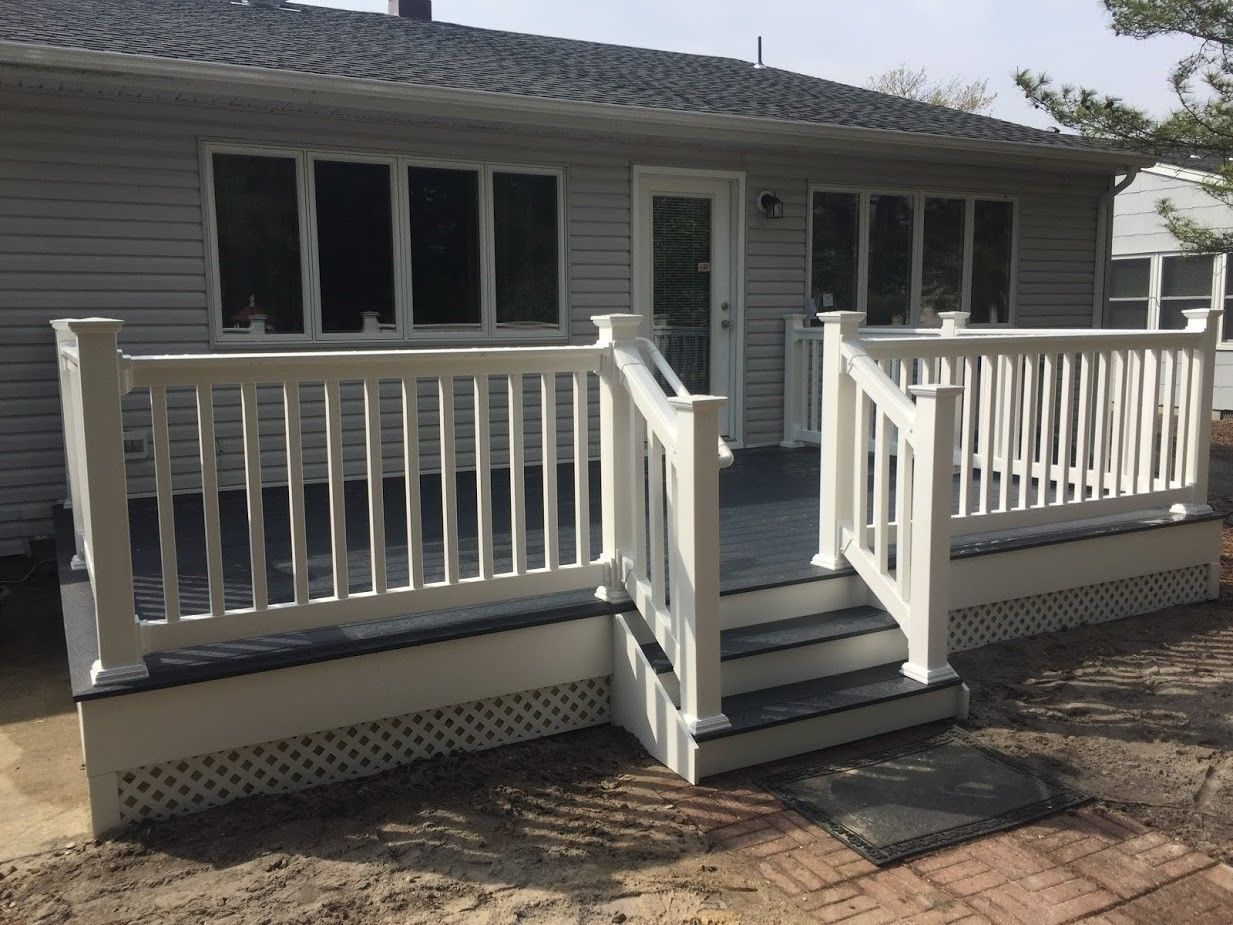 Toms River,NJ Trex Deck - Picture 7476