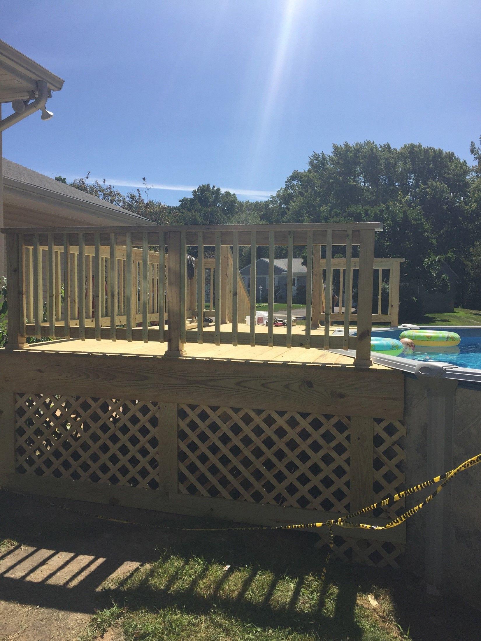 Pool Deck Picture 7736 Decks Com