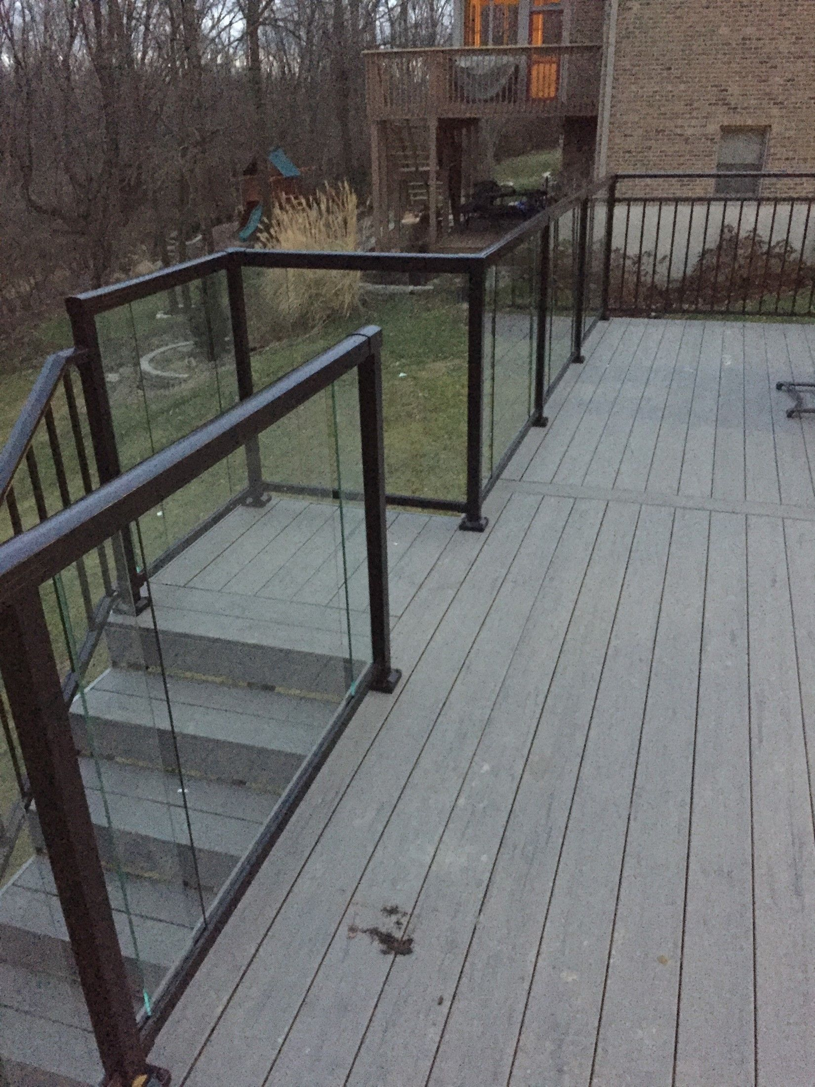 glass handrail - Picture 7745