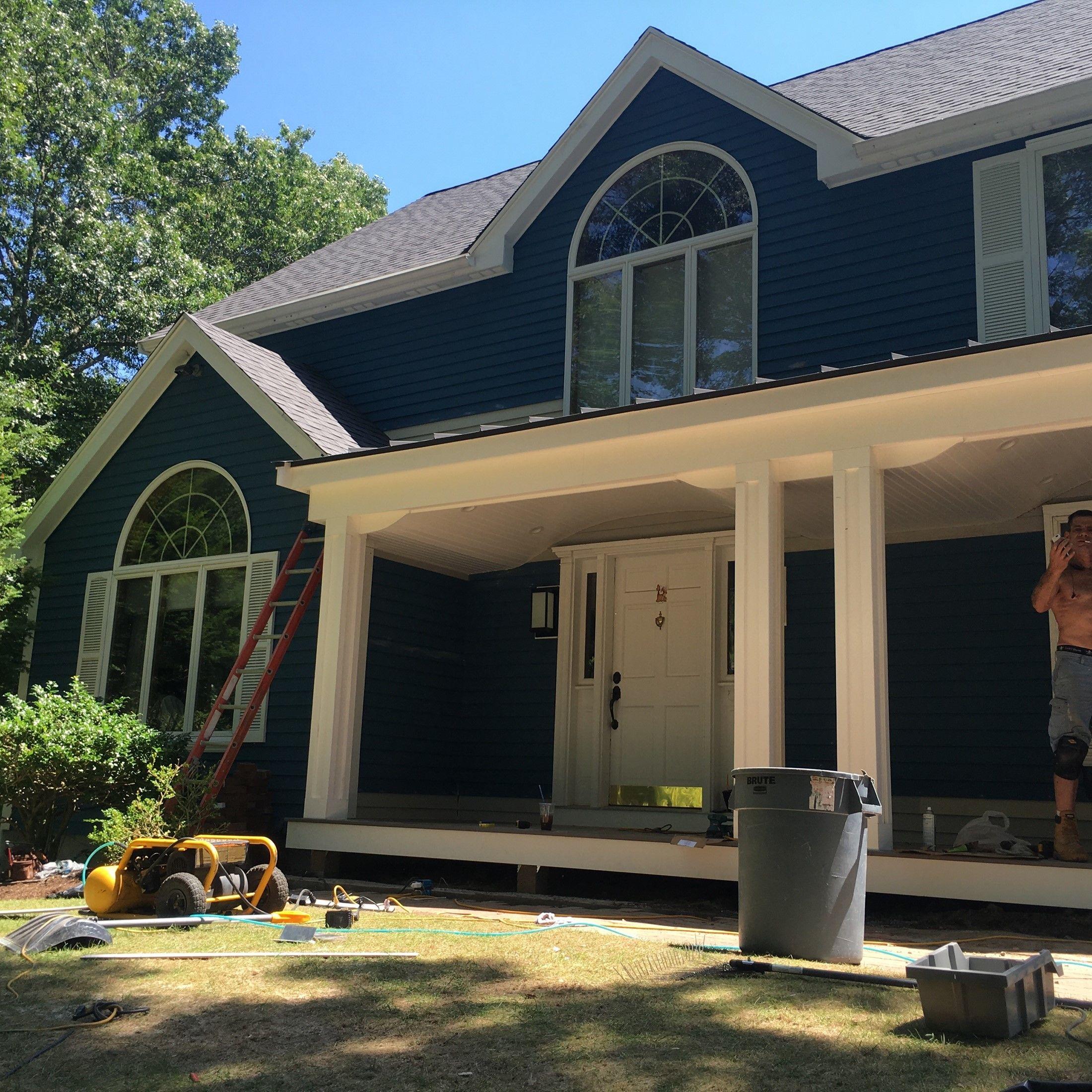 Ellipse Shaped Front Porch - Picture 7768