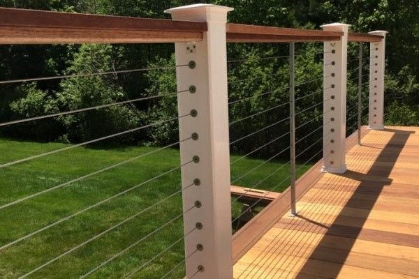 Mahogany Deck with pergola - Picture 7774